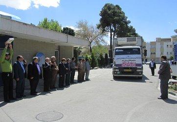 ارسال دومین محموله ی کمکهای شرکت آب منطقهای اصفهان به مناطق سیل زده