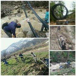 هزینه بیش از ۳۰۰ میلیون ریالی برای مرمت خطوط انتقال روستاهای آزادشهردر فروردین ماه