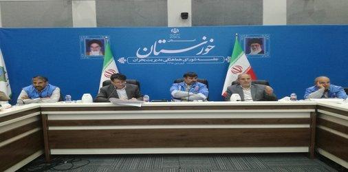 مدیر کل مدیریت بحران استانداری خوزستان: آماده باش هنوز تمام نشده است/ بلوارهای ساحلی اهواز تا جمعه بازگشایی شوند