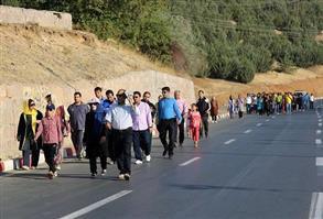 """به مناسبت """"روز سنه """"همایش بزرگ پیاده روی خانوادگی در سنندج برگزار می شود"""