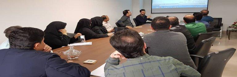 برگزاری دوره آموزشی راه اندازی سیستم تدارکات در ساختمان مرکزی شهرداری رشت