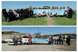 برگزاری همایش پیاده روی گرامیداشت روز زمین پاک و هفته سلامت در گرگان