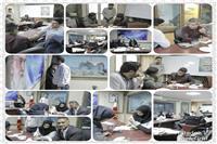 غربالگری کارمندان اداره کل حفاظت محیط زیست فارس به مناسبت هفته سلامت