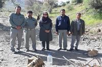 بازدید مدیرکل حفاظت محیط زیست استان از پارک ملی خبر و بررسی وضعیت پارک پس از بارندگی های اخیر
