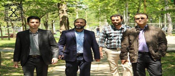 روابط عمومی منطقه دو: بازدید معاون خدمات شهر و مشاور شهردار منطقه دو  از پارک قدس