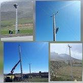 اتمام عملیات اجرایی انتقال شبکه فشار متوسط محور بیجار _ دیواندره در کردستان