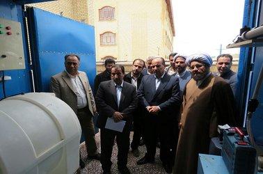 نصب سامانه پکیج تصفیه آب نقطه ای  در شهر فرمهین