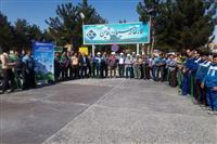 اقدام محیطی زیستی پرسنل کارخانه سیمان قاین به مناسبت گرامیداشت روز زمین پاک