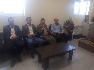 دیدار مدیر امور منابع آب انار با دادستان این شهرستان