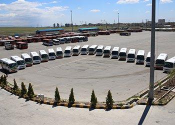 به منظور توسعه ناوگان حمل و نقل عمومی شهر قزوین خرید ۲۰ دستگاه مینی بوس جدید خریداری شد