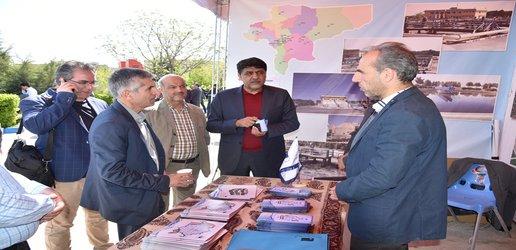 حضور آب منطقه ای اصفهان در نمایشگاه مدیریت سبز