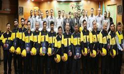 نمونه های ایمنی شرکت توزیع نیروی برق استان سمنان تجلیل شدند