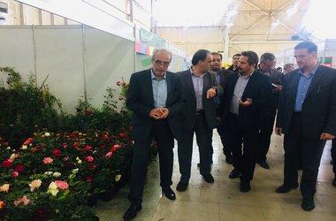 بازدید شهردار تبریز از سیزدهمین نمایشگاه بینالمللی گل و گیاه