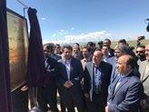 فاز اول نخستین نیروگاه خورشیدی ۲ مگاواتی استان اردبیل افتتاح شد