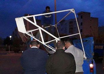 شب گذشته ۱۵ مورد سد معبر در خیابانهای اصلی منطقه سه قزوین رفع شد