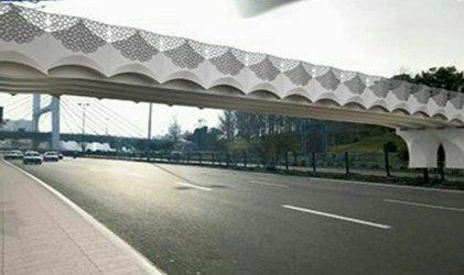 عملیات احداث پل روگذر همسان پل کابلی به زودی آغاز می شود