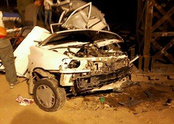 واژگونی خودرو پراید در محوراقبالیه دو کشته برجای گذاشت