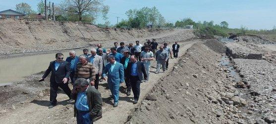 حضور مدیرعامل شرکت آب منطقه ای گیلان در شهرستان تالش