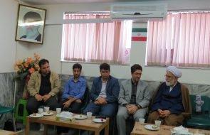 دیدار سرپرست و کارکنان امور آبفار گناباد با ائمه جمعه بخش مرکزی و کاخک این شهرستان
