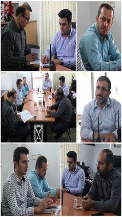 روابط عمومی منطقه دو: جلسه معاون خدمات شهر منطقه دو شهرداری رشت با مسئولین ناحیه برگزار شد