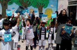 ارائه آموزش های مصرف بهینه آب به دانش آموزان مدرسه گنجینه زندگی شهرستان مشهد