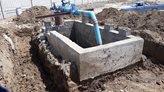 تاسیسات آبرسانی آسیبدیده از سیلاب در میلاجرد استان مرکزی بازسازی شد
