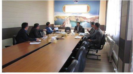 اولین جلسه هماهنگی حفاظت از بستر و حرایم رودخانه ها و سیلابها  در محل امور منابع آب شهرستان ایجرود برگزار گردید.