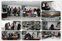 برگزاری مسابقه نقاشی و نمایشگاه نقاشی کودکان پرسنل اداره کل با موضوع سلامت در هفته سلامت