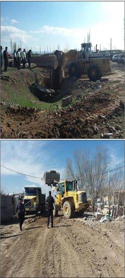 انسداد ۳ حلقه چاه غیر مجاز از اول سال ۹۸ در محدوده شهرستان اردبیل
