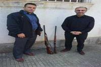 کشف و ضبط دو قبضه اسلحه شکاری در شهرستان شفت