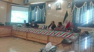 برگزاری جلسه شورای حفاظت از منابع آب شهرستان انار