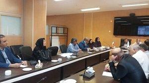 برگزاری جلسه با موضوع اخذ مجوز محیط زیستی برای پروژه سد شهیدان امیر تیموری (صفارود)