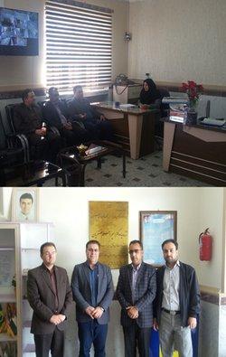مدیر امورمنابع آب شهرستان زنجان بمناسبت هفته معلم در مدرسه ابتدایی امیر اعلم غضنفریان حضور یافت.