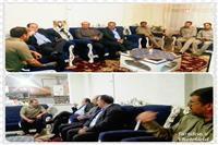 عیادت مدیر کل حفاظت محیط زیست فارس از محیط بان مصدوم پارک ملی بمو