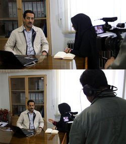 مصاحبه مدیر دفتر رودخانه ها و سواحل شرکت آب منطقه ای زنجان با صداو سیمای مرکز استان