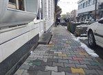 اتمام عملیات طرح کف سازی و بهسازی منشعبات خیابان شهید مطهری