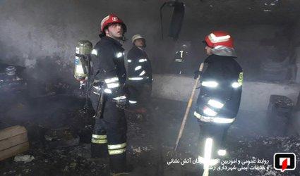پوشش ۲۸ مورد حریق و حادثه توسط آتش نشانان شهر باران در ۴۸ ساعت گذشته /آتش نشانی رشت