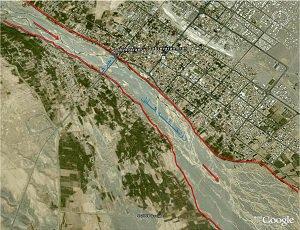 بررسی آخرین وضعیت رودخانه هلیل رود و اقدامات انجام شده