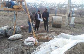 آغاز عملیات اجرایی حفاری چاه آب روستاهای آقکاریز و کچلانلو شهرستان قوچان