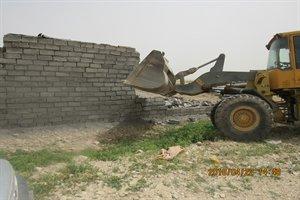 رفع تصرف بیش از ۷۵۰۰ متر مربع از اراضی ملی استان ایلام از  ابتدای سال جاری تا کنون