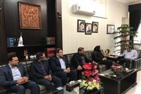 دیدار مدیر کل حفاظت محیط زیست استان با معاون استاندار و فرماندار جدید رفسنجان