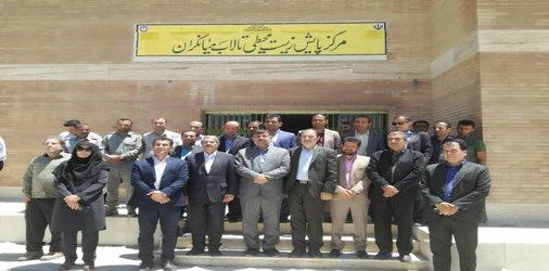 مدیر کل مدیریت بحران استان خوزستان از  ساختمان مرکز پایش زیست محیطی تالاب میانگران بازدید کرد