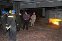 بازدید مهندس شاکری از شرکت تولیدی تاب اکو خاورمیانه