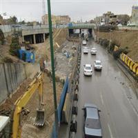 پایان محدودیتهای ترافیکی زیرگذر میدان عاشق اصفهانی