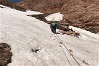 صعود قله بلوچی توسط محسن دامغانی از پرسنل اداره کل حفاظت محیط زیست استان کرمان به مناسبت سالروز آزادسازی خرمشهر