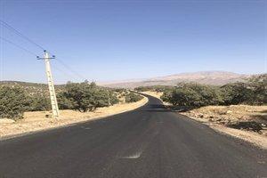 ادامه بهسازی و آسفالت راههای روستایی بخش هلیلان شهرستان چرداول استان ایلام