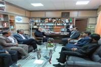 دیدار مدیرکل حفاظت محیط زیست استان کرمان با فرماندار شهرستان جیرفت