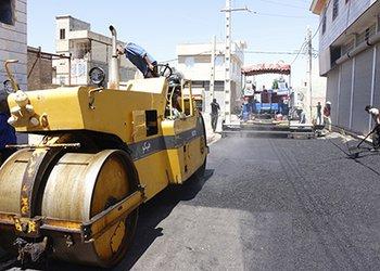 عملیات آماده سازی و روکش آسفالت معابر فرعی شهرک ناصر آباد آغاز شد