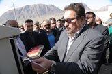 پروژه برقرسانی به شهرک روستایی هامانه در یزد به بهرهبرداری رسید