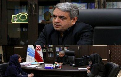 مصاحبه مدیر عامل شرکت آب منطقه ای زنجان، با خبرنگار روزنامه صدای زنجان